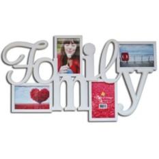 Фоторамка-коллаж Семья на 4 фото