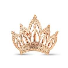 Брошь Корона (позолоченное серебро)