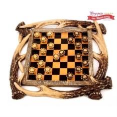 Настольная игра шашки «Викингские» (32х4х32 см)