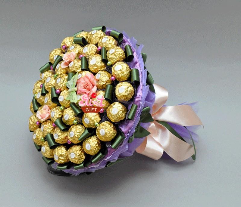 Подарок из конфет своими руками на день рождения фото 394