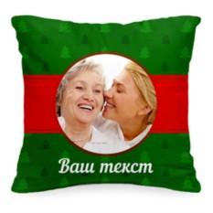 Подушка с фото «Елочки»