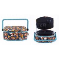 Текстильная шкатулка для рукоделия Сундучок