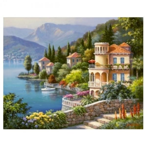 Картина-раскраска по номерам на холсте Италия