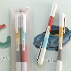 Набор из 2 цветных двусторонних ручек Color