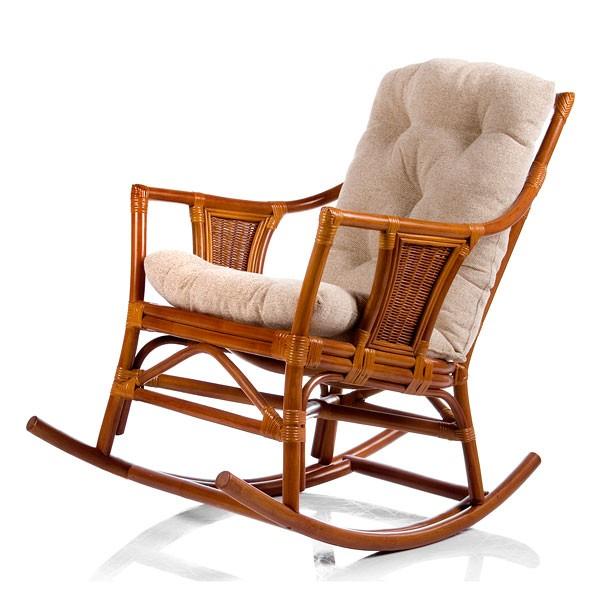 Кресло-качалка с подушкой Canary