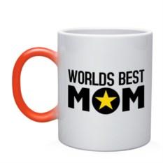 Кружка-хамелеон Worlds Best Mom