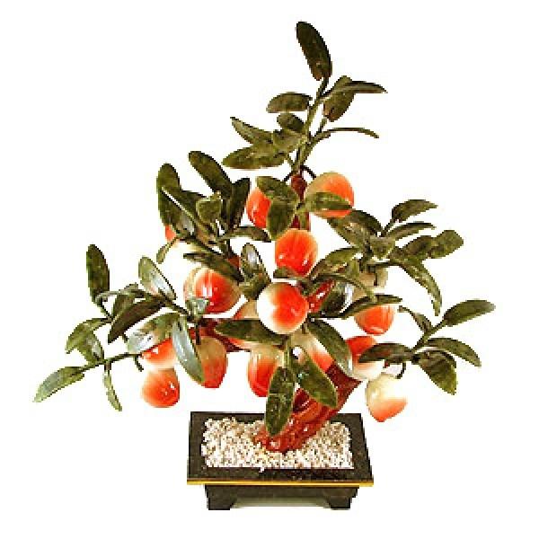 Бонсай (37 см) Персик (дерево счастья)