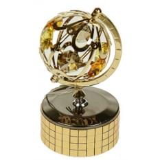 Фигурка Swarovski Глобус на музыкальной подставке