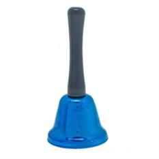 Синий настольный колокольчик