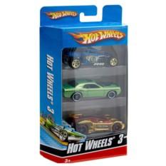 Набор машинок Mattel Hot Wheels из трех штук