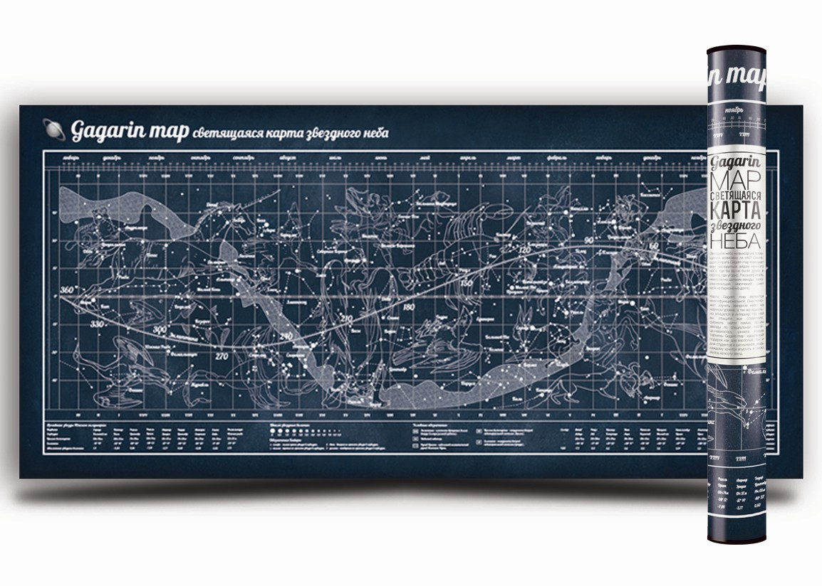 Карта Звездное небо
