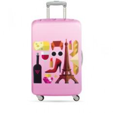 Чехол для чемодана LOQI Hey Paris М