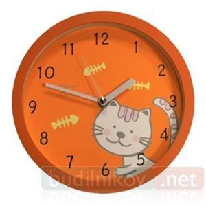 Детские настенные часы B&S Кошка