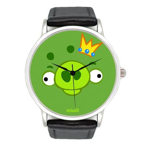Наручные часы Miusli Angry birds Pig