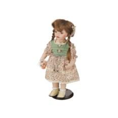 Фарфоровая кукла с мягконабивным туловищем, высота 38 см
