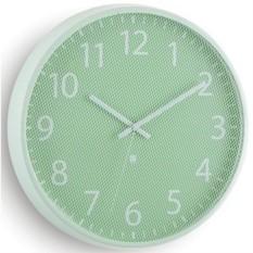 Мятные настенные часы Рerftime