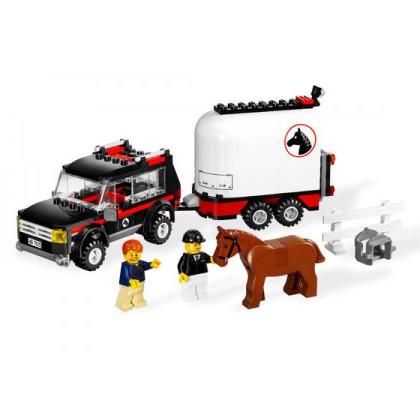 Lego City « Полноприводной трейлер с лошадью»