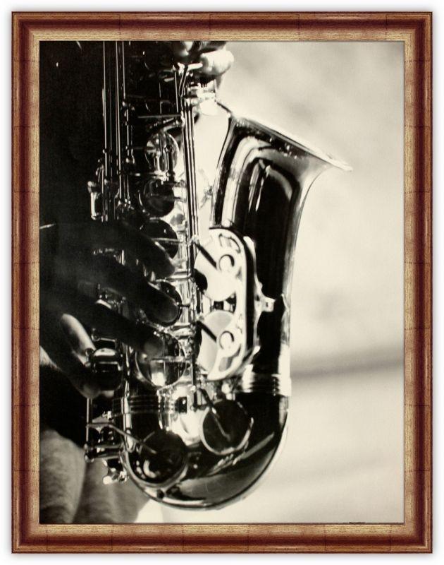 Постер Саксофонист (Пауль Коланджело)