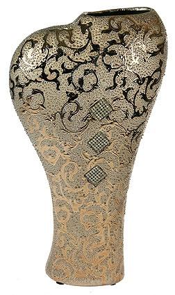 Ваза декоративная, керамика 20*10*38см