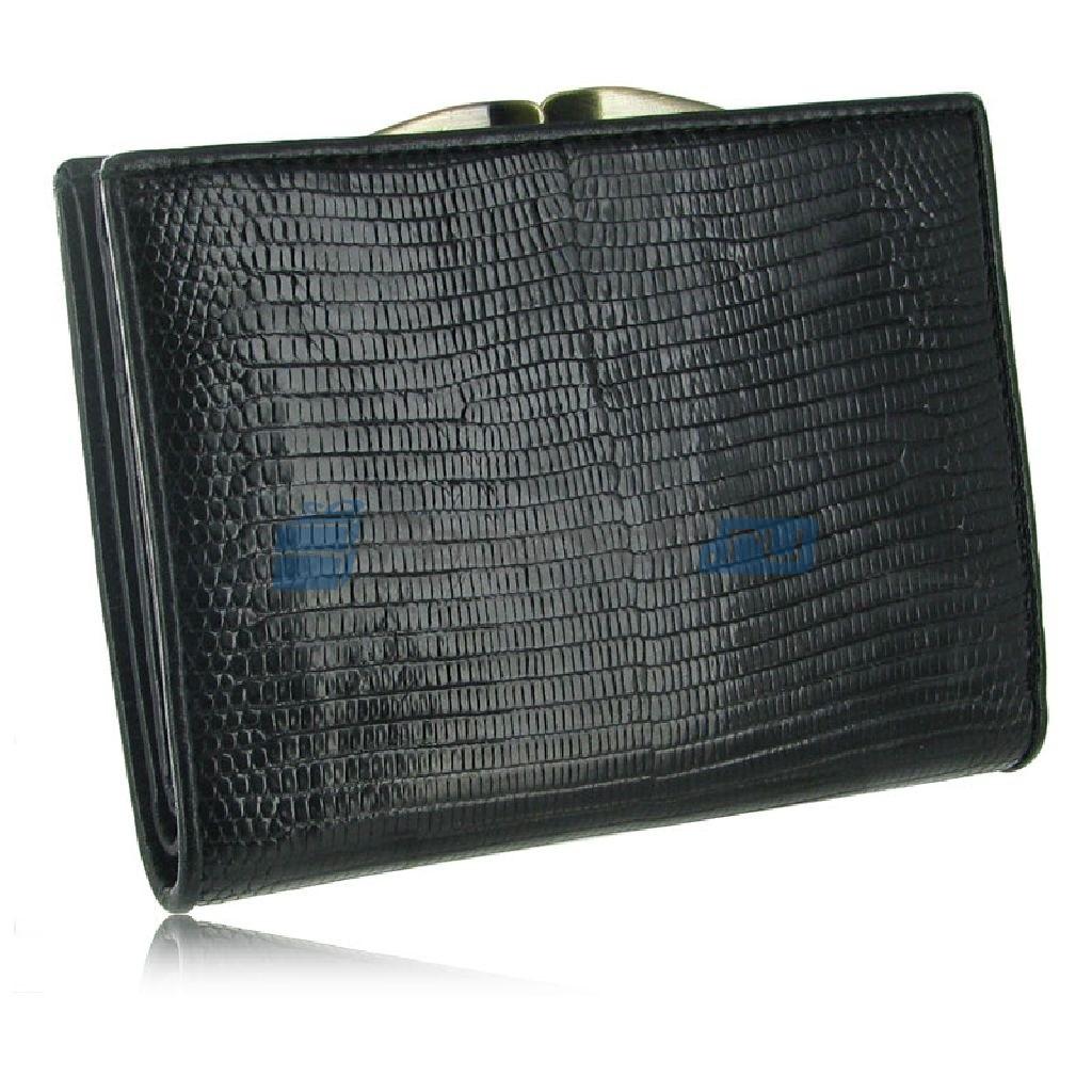 Женский кошелек из кожи варана