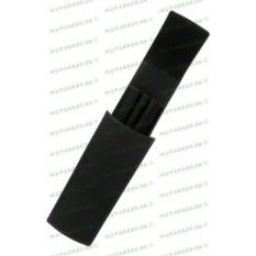 Кожаный футляр для трех ручек Graf von Faber-Castell Black