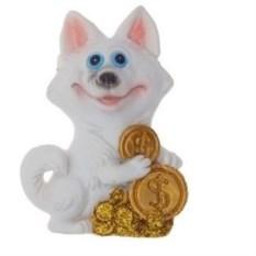 Магнит Собака с монетками