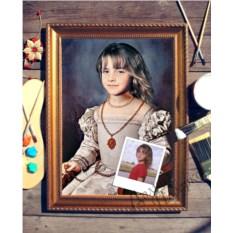 Портрет по фото Молодая аристократка