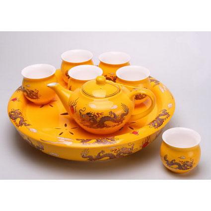Чайный набор «Желтый дракон»