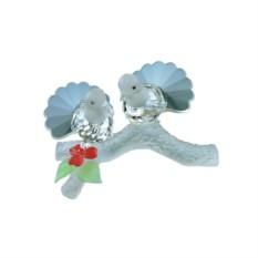 Хрустальная статуэтка Влюбленные голуби