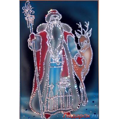 Картина из кристаллов Swarovski Морозко