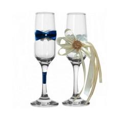 Набор свадебных бокалов №51