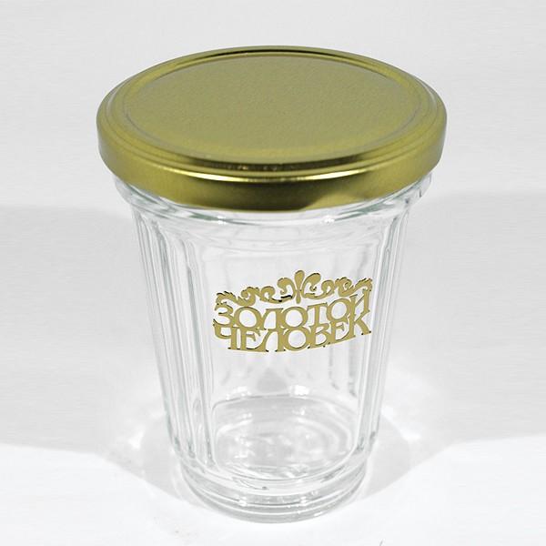 Граненый стакан Золотой человек