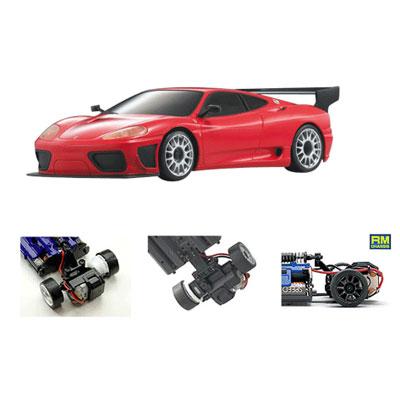 Радиоуправляемая модель Ferrari 360 GTC Red