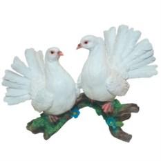 Декоративная садовая фигура Два голубя №2