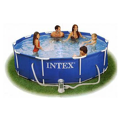 Каркасный бассейн Family Size Metal Frame Pool Set