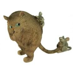 Декоративная фигурка Кот и мышка