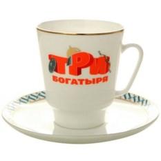 Кофейная чашка Три богатыря