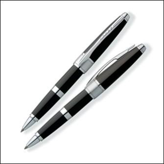 Ручка-роллер Cross Apogee, цвет: Black