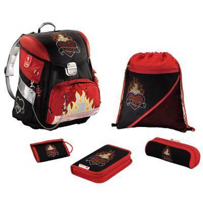 Школьный рюкзак с наполнением «Пламенное сердце»