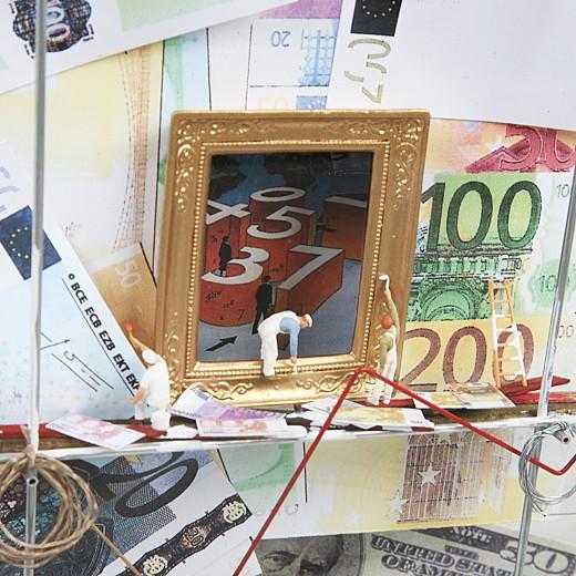 3D-картина «Финансовая империя»