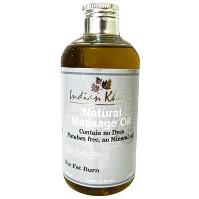Антицеллюлитное масло для тела  Indian khadi