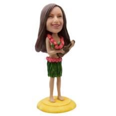 Статуэтка по фото девушки Гавайские напевы