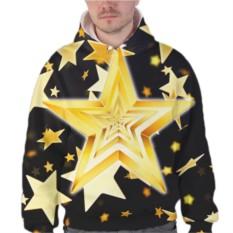 Толстовка Желтые звезды
