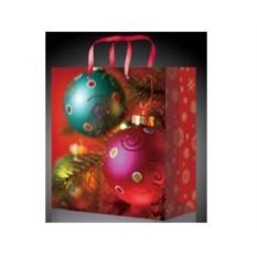Новогодний пакет с шарами