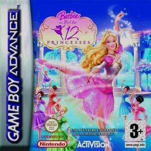 Игра для Game Boy Advance: Барби: 12 Танцующих