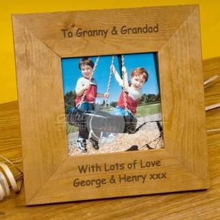 Рамка для фото Любимой бабушке