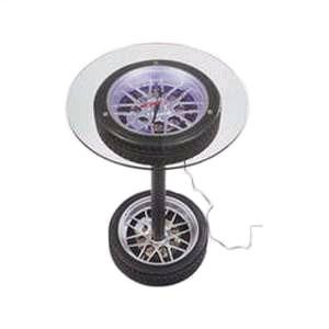 Столик-часы с подсветкой «Шина»