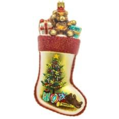Ёлочная игрушка Носок для подарков
