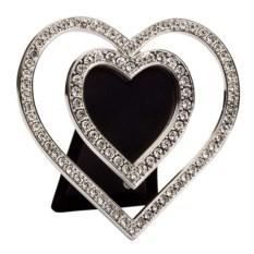 Фоторамка Двойное сердце