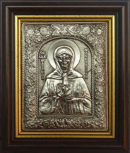 Икона Святая Блаженная Матрона Московская 2